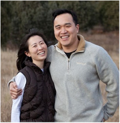 Dr. Vinh Chung and Leisle Chung in 2009, the year they opened Vanguard Skin Specialists.