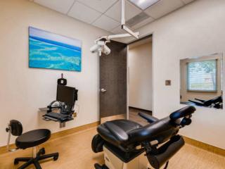 Modern patient rooms